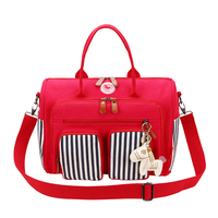 High quality baby diaper bag Maternity backpack Mummy care toddler bottle nurse nappy bags Dry wet zipper messenger bags Hobos