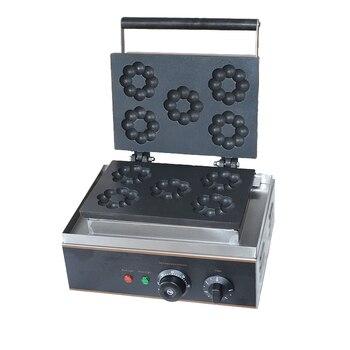 Ev Aletleri'ten Waffle Makineleri'de Erik Çiçek Kek donut yapma makinesi Makinesi Güzel Şekil