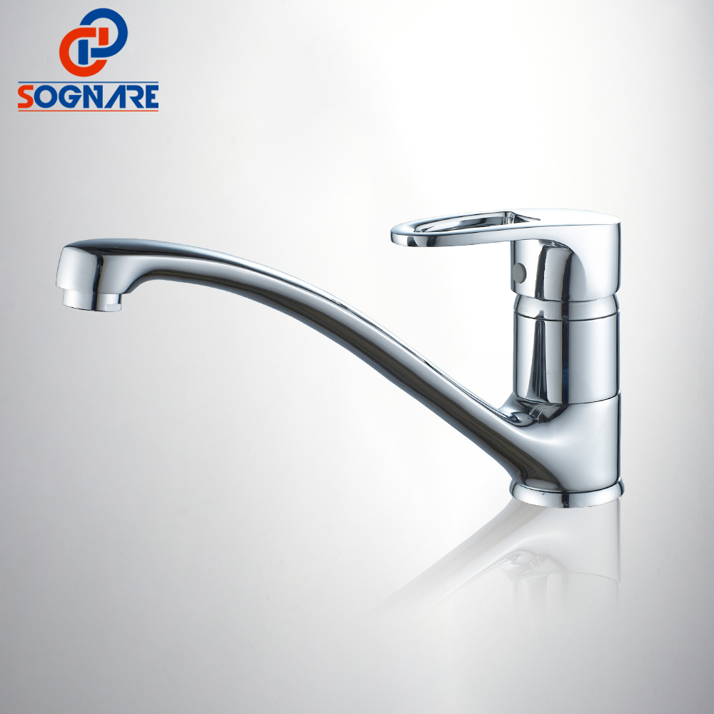 SOGNARE NEW Kitchen Faucet Chrome Brass Deck Kitchen Sinks Faucet 360 Degree Rotating Swivel Cold and Hot Mixer Water Taps D2135 sognare kitchen faucet chrome finish water tap rotate swivel kitchen mixer faucet cold and hot water mixer taps torneira cozinha
