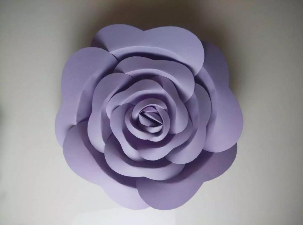 Künstliche Blumen Große Papierblumen Dekoration Papierblumen - Partyartikel und Dekoration - Foto 4