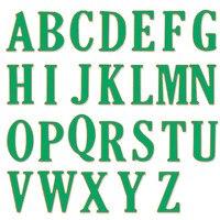 Een set bevat 26 letters Stansmessen Stencil Grote Grote Alfabet Letters Snijden Stencils Metalen voor DIY Scrapbooking Card
