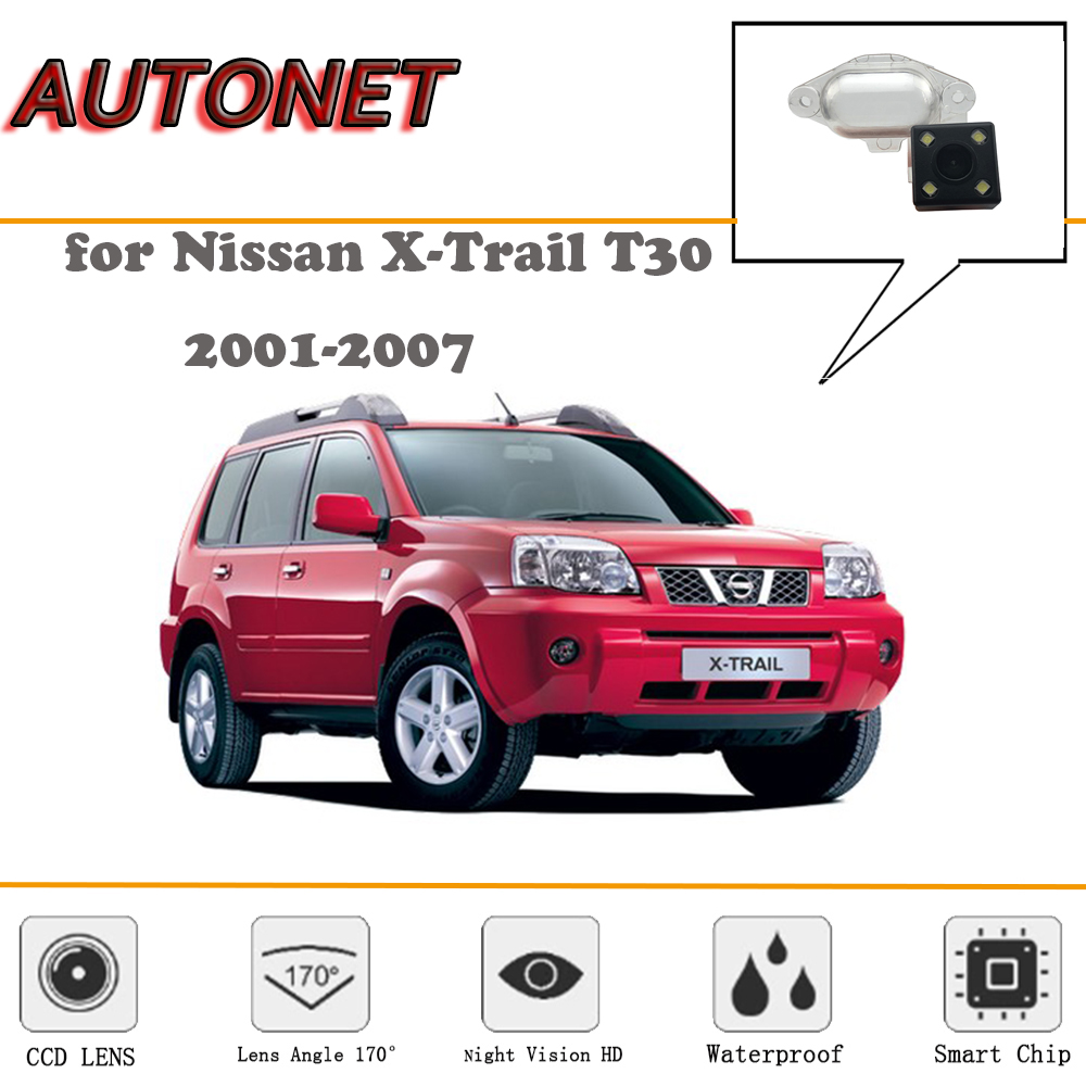 AUTONET Rear View Camera For Nissan X-Trail Xtrail T30 2001-2007/CCD/Night Vision/Reverse Camera/license Plate Camera