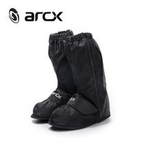 Раро мотоциклетные Водонепроницаемый дождь Бахилы Регулируемая герметичность многоразовые Водонепроницаемый нескользящей дождь черная обувь Сапоги и ботинки крышка