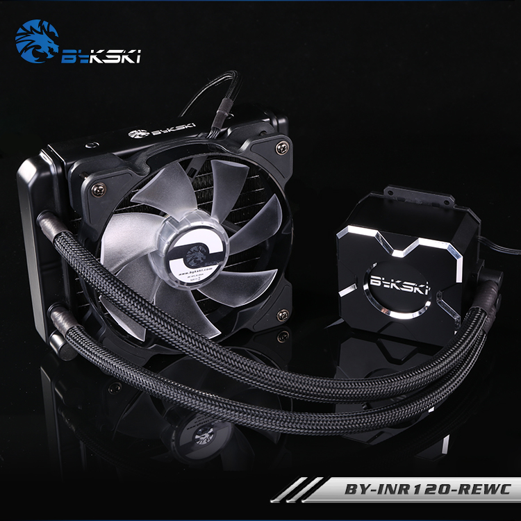 BYKSKI Water Cooling Kit Basic Kit with 120mm/240mm Radiator + Pump + CPU Block + Fan Simple Cooling Building Rev 2.0 bykski b pump pav water cooling pump with heatsink 300l