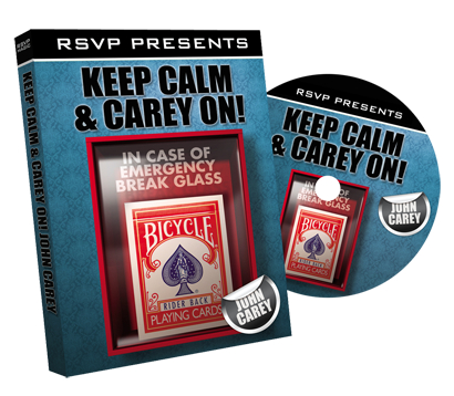 Keep Calm And Carey On With John Carey Magic Tricks