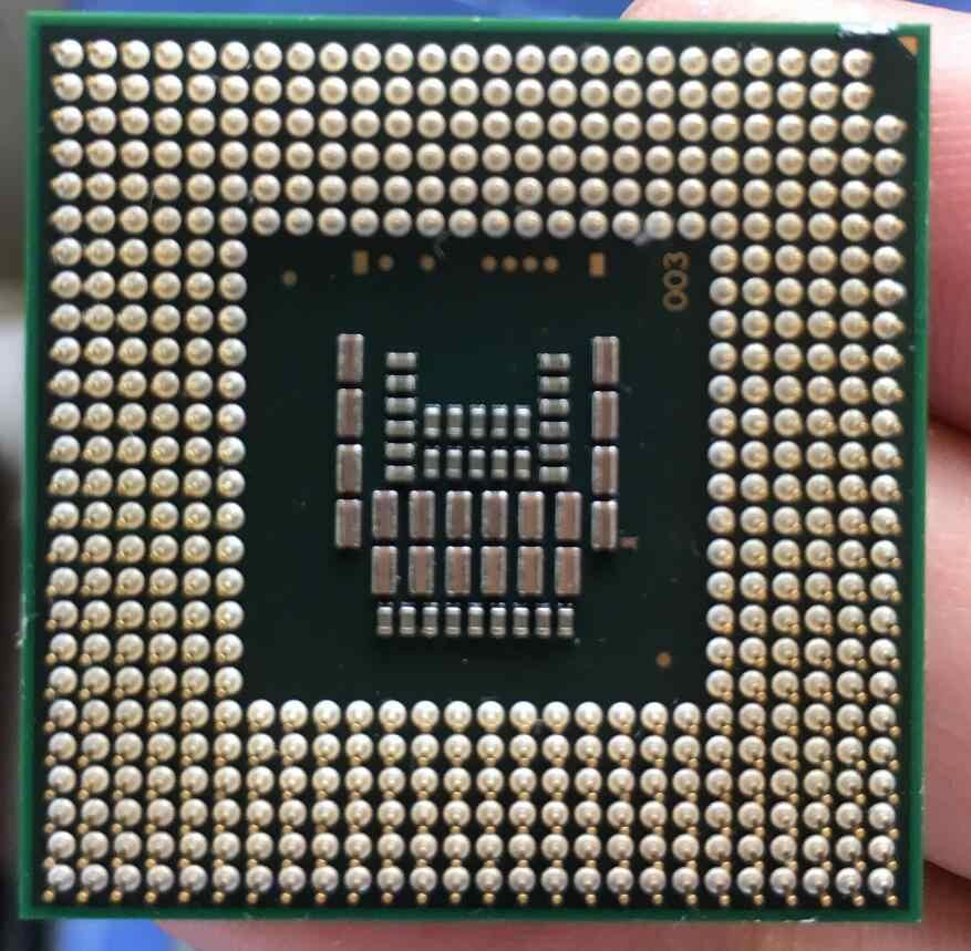 Intel Core 2 Duo T7700 notebook CPU, procesador de ordenador portátil PGA 478 cpu, 100% de trabajo adecuado