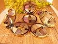 Мульти 6 Цветов Алмаз Яркий Naked Дымчатый Макияж Палитра Теней Shimmer Макияж Комплект Тени для век Косметика Минеральная С Кистью