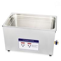 30L 100S 120W 600W Ultrasonic Cleaner Heater Timer Bath Adjustable Industry Ultrasonic Cleaning Machine 3.2L 4.5L 6.5L 10L 15L