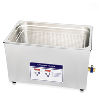 30L 100S 120W 600W Ultrasonic Cleaner Heater Timer Bath Adjustable Industry Ultrasonic Cleaning Machine 3.2L 4.5L 6.5L 10L 15L