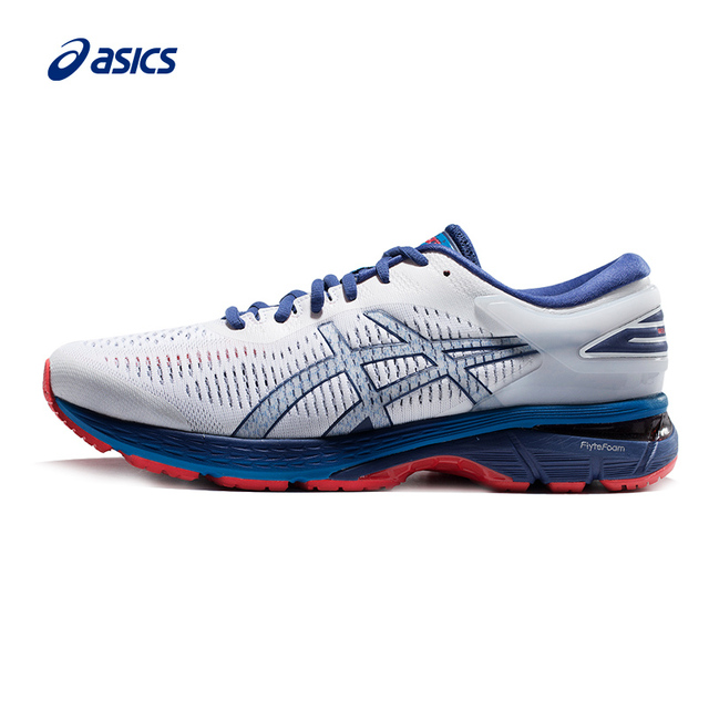 Original New Arrival ASICS GEL-KAYANO 25 Men s Stability Running Shoes ASICS  Sports Shoes Sneakers Outdoor Walkng Jogging ac3e2c145