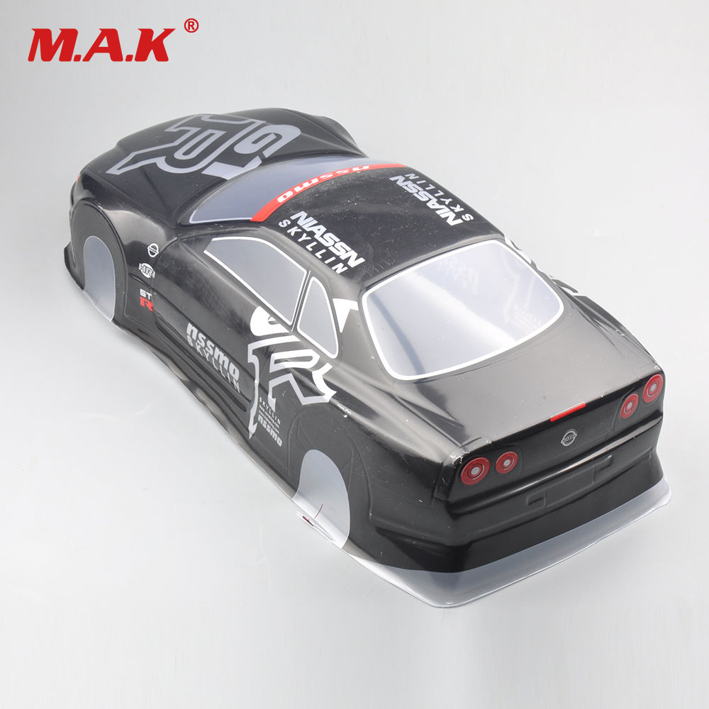 020GR 190MM DIY Painted PVC Body Shell +Rear Wing Parts and Accessories For 1:10 RC Drift Model Racing Car Model Toys 3 colors fashion 1 10 rc car shell 190mm on road drift nissan gtr body shell w spoilers free shipping high quality