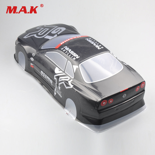 US $24 07 7% OFF|020GR 190MM DIY Painted PVC Body Shell +Rear Wing Parts  and Accessories For 1:10 RC Drift Model Racing Car Model Toys-in Parts &