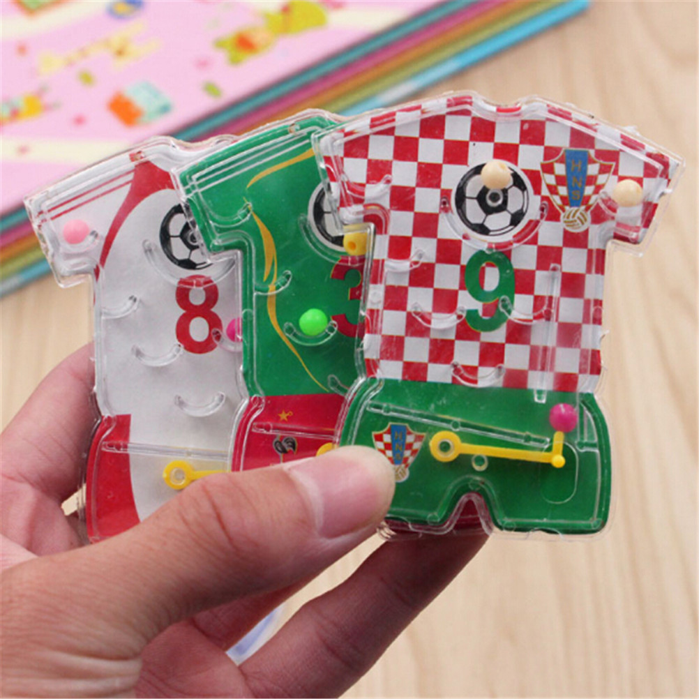 1Pcs 3D Maze Puzzle Toy Educational Learning Intelligence Toys For Children Kids  Magnet Beads Slot Maze Board Game