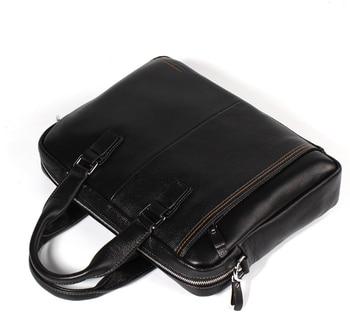 men's cross handbag section business bag multi-function large-capacity briefcase  fashion 14″ laptop Messenger bag Men's Backpacks