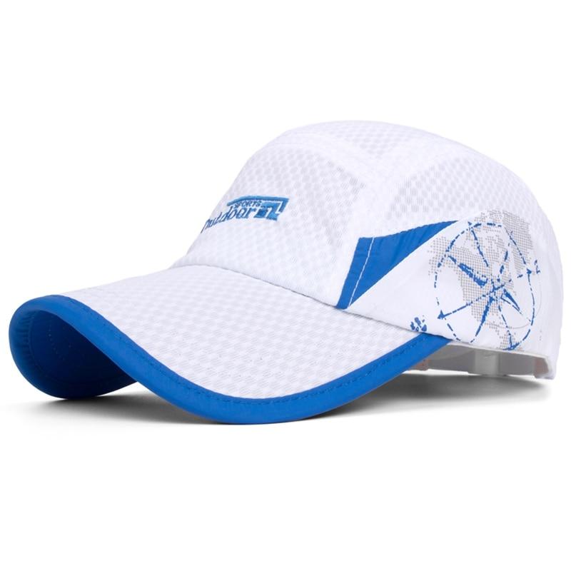 Cap Men outdoor sports cap sun hat male mesh baseball cap breathable male hat
