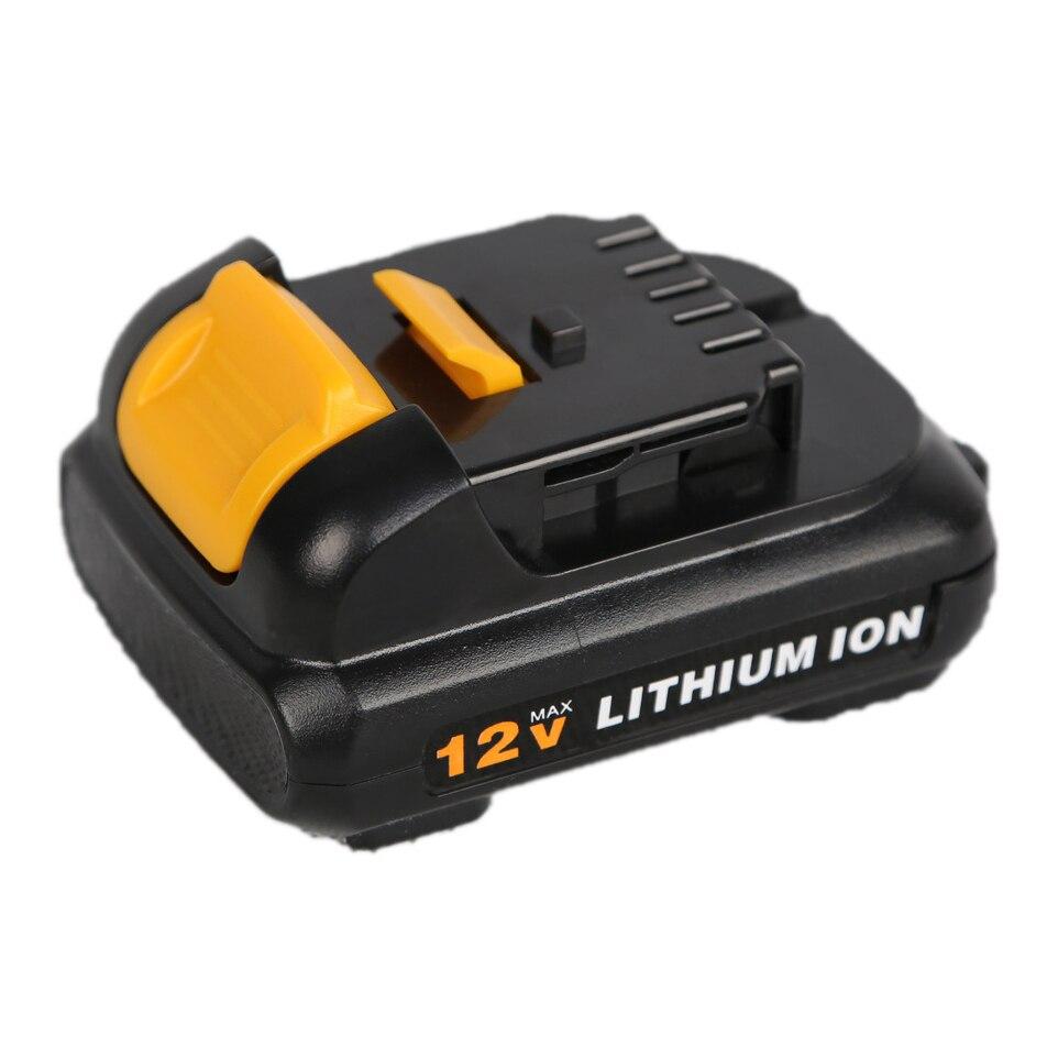 Для Dewalt 12V 10,8 V 2500mAh аккумулятор для электроинструмента DCB120, DCB100, DCT410S1, DCT414S1, DCL510, DCF610, DCF610S2, DCD710, DCF813S2, DCF815