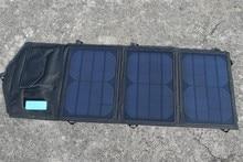 Solarparts 6v/8w solar panel Foldable Portable Solar Power Bank Powerbank Cell USB Solar Panel Charger .