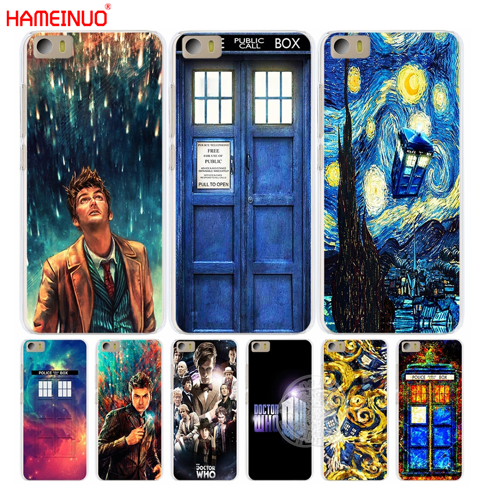HAMEINUO Doctor Who Cover phone Case for Xiaomi M Mi 2 3 4 5 5S 5C 5X 6 Mi2 Mi3 Mi4 4S 4I 4C Mi5 Mi6 NOTE MAX