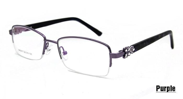 Purple Frame glasses