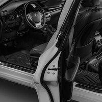 Пользовательские автомобильные коврики для lexus ES с 3 w заказной специальный термопластиковый коврик, черный