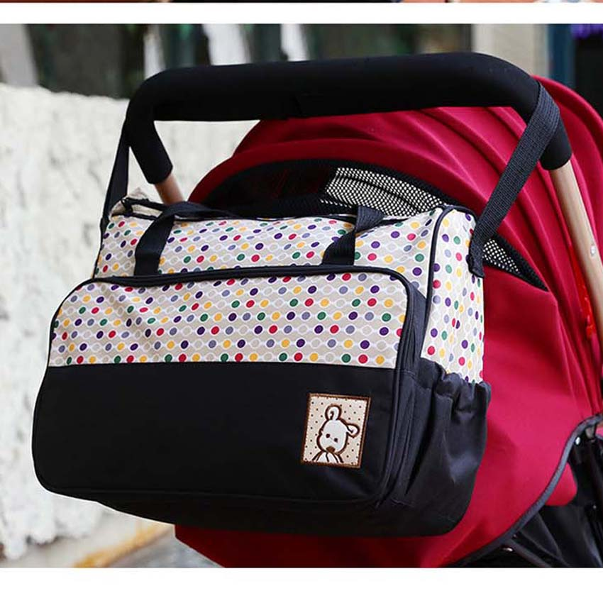Fashion Designer Baby Diaper Bags Nappy Mummy Bag Tote Maternity Handbag Baby Organizer Stroller Bags for