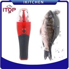 Fish font b Scale b font Scraping Machine Rechargeable Electric Scraping Fish font b Scales b