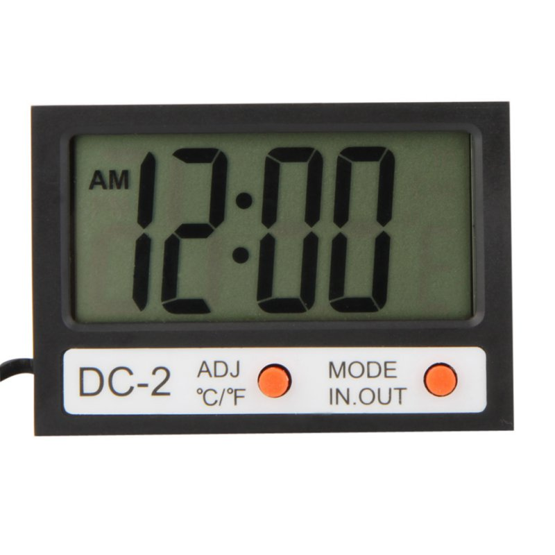Electronic New Thermostat Tester Indoor Outdoor Mini LCD Display Digital Room Thermometer