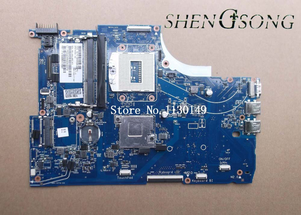 760289-001 760289-601 Free Shipping Original 760289-501 FOR HP 15-Q 15T-Q M6-N series Laptop Motherboard HM87 Mainboard original laptop motherboard abl51 la c781p 813966 501 for hp 15 af mainboard full test works