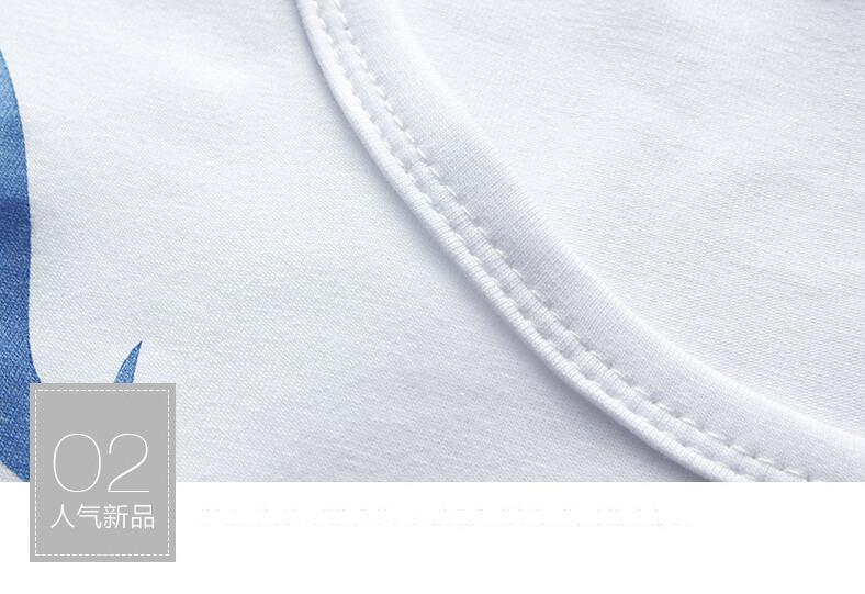 2017 Autumn new high-end men's brand t-shirt fashion Slim Dragon printing atmosphere t shirt Plus size long-sleeved t shirt men 9