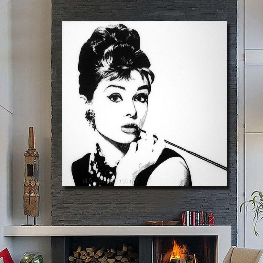 Online buy wholesale pop art audrey hepburn from china pop for Audrey hepburn pictures to buy