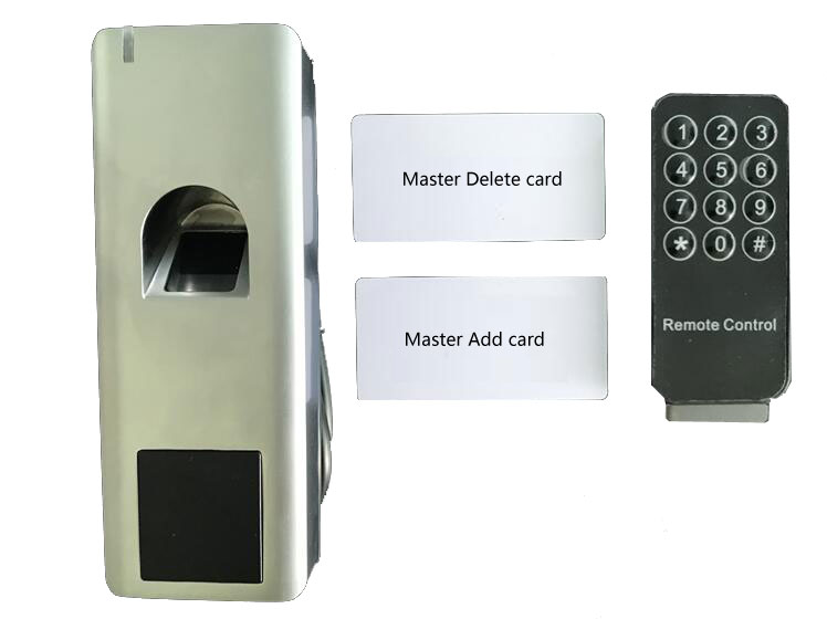 Image 2 - RFID Fingerprint Access Control with remote control IP66 waterproof Anit Hit  support ID card /finger can as reader WG26 output-in Fingerprint Recognition Device from Security & Protection