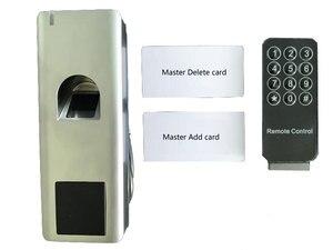 Image 2 - Rfid Vingerafdruk Toegangscontrole Met Afstandsbediening IP66 Waterdichte Anit Hit Ondersteuning Id kaart/Vinger Kan Als Reader WG26 Uitgang