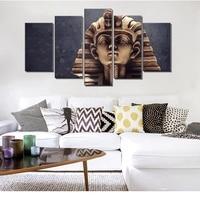 5 Painel de Arte Da Parede Da Lona A Grande Esfinge do Egito Antigo Imagem para Sala de estar Decoração Da Parede Da Arte Do Cartaz Impressão Modular Casa decoração|Pintura e Caligrafia|   -