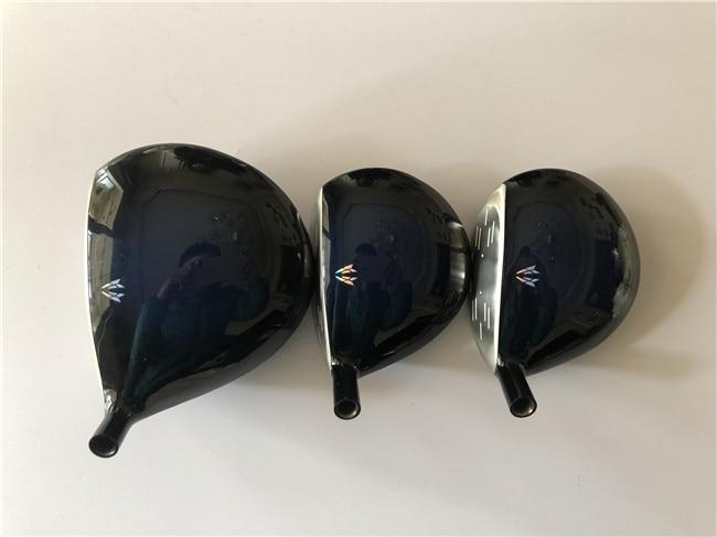 3PCS MP1000 Woods MP1000 Golf Woods MP1000 Golf Clubs Driver Fairway Woods R S Flex MP1000