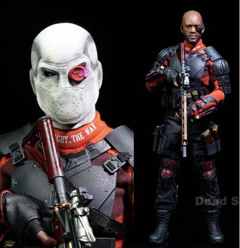 1:6 scale Super flexible male figure Suicide Squad DeadSoilder Will Smith 12 action figure doll Collectible Model plastic toy did1 6 scale doll jean reno french soldiers special edition super flexible figure model toy wwi soldier finished product