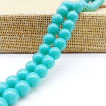 hot deal buy new arrival solid opaque glass beads loose spacer 8mm round beads diy jewelry making 360 pcs/bag