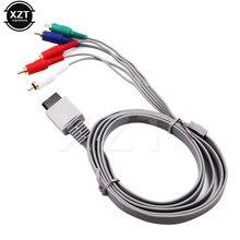 1.8 m Component 1080 P HDTV AV Audio Adapter Kabel Koord Draad 5 RCA Av-kabel F voor Nintendo Wii voor Nintendo Wi ik U console
