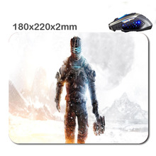 HOT SALES Custom Antiskid 3 D Dead Space 3 220 X180x2mm Office Accessory Tablet And Mini PC Mouse Pad As Gift