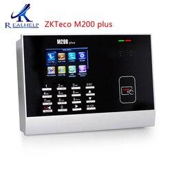 System frekwencji czasu czytnik kart Rfid czytnik M200Plus biometryczny zegar z ZKTime 5.0 w Elektroniczna rejestracja obecności od Bezpieczeństwo i ochrona na