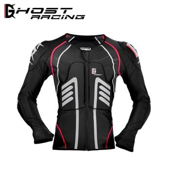 Лыжная куртка Ghost Racing из лайкры, лыжная защита
