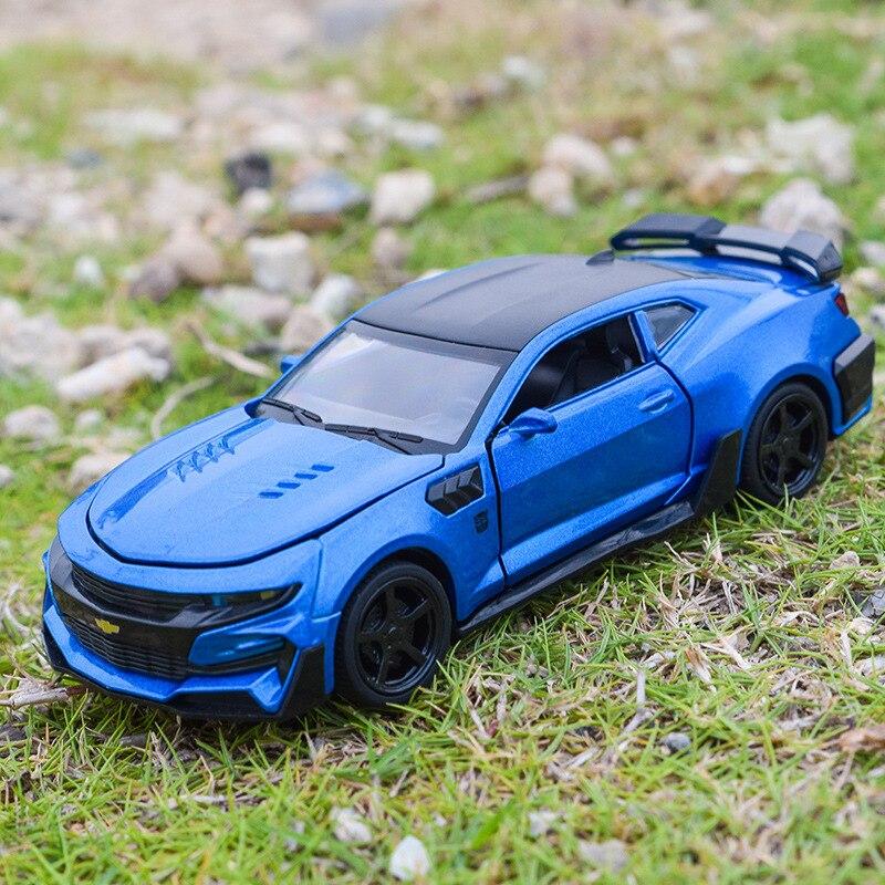1 32 Alloy Car Models High Simulation Chevrolet Camaro Toy Vehicles