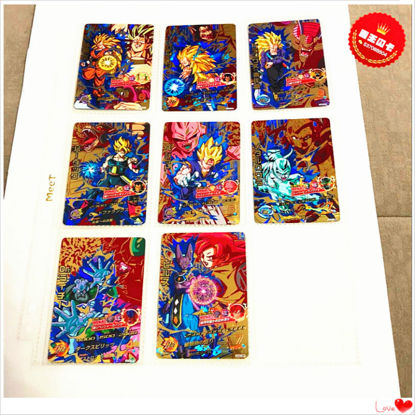 Japan Original Dragon Ball Hero Card HJ3 CP Hot Stamping Goku Toys Hobbies Collectibles Game Collection Anime Cards