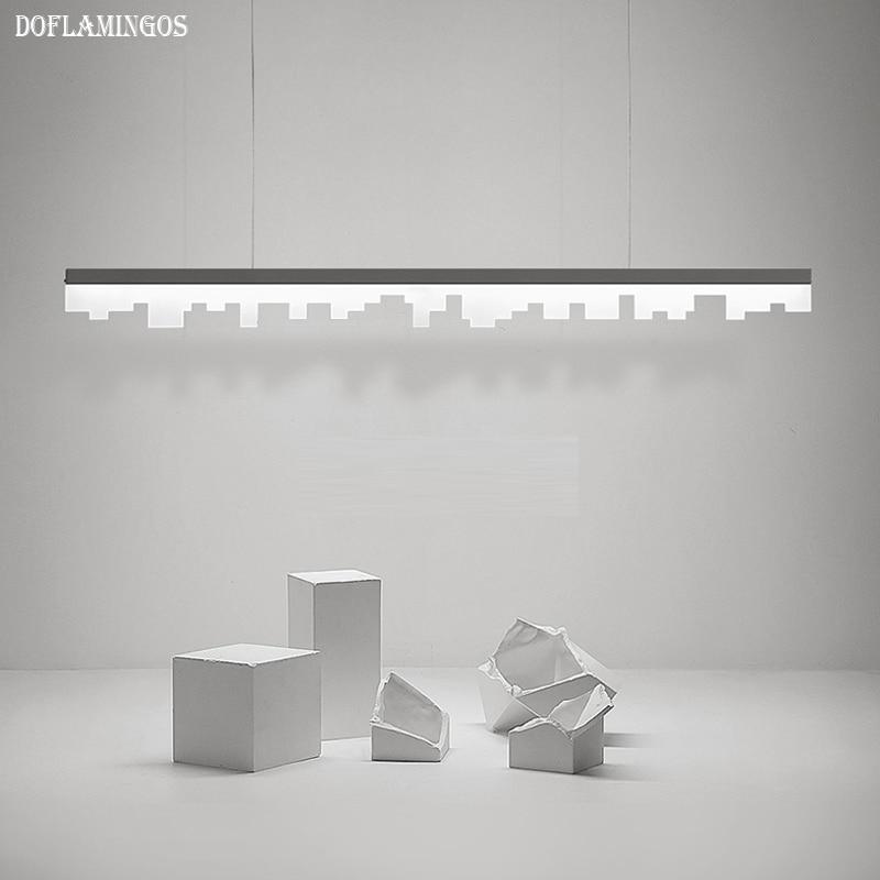 Fashional super thin Modern LED chandeliers light for indoor lighting AC 110-220V 60CM 90CM 120CM fashional modern black