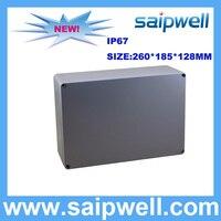 IP67 DIE CAST ALUMINUM BOX WITH 4 SCREWS 260 185 128MM