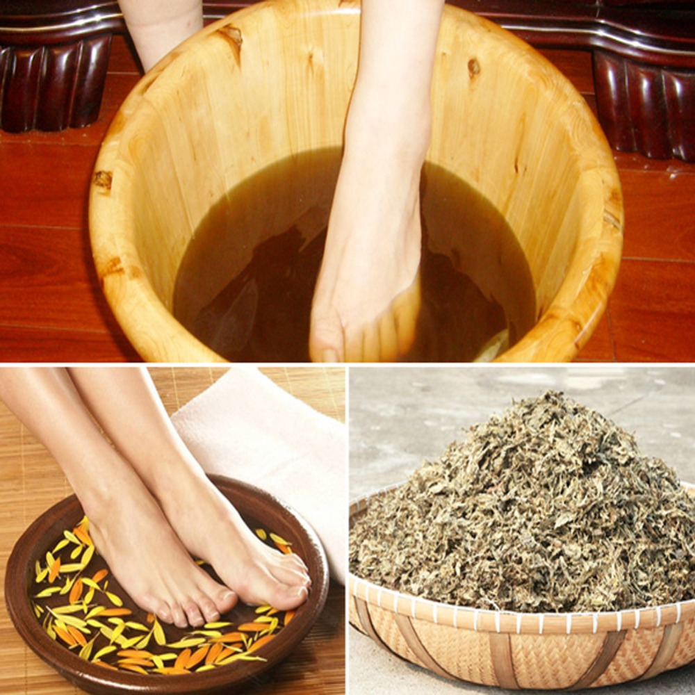 Chinese Medicine Foot Bath Acacia Foam Feet Have A Pass Through TCM Health Massage Sole Promote Blood Circulation