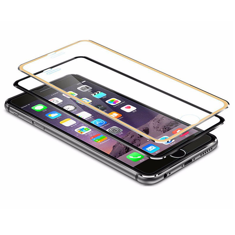 Ultra-thin Alloy Tempered Glass 3D Full 9H Screen Protector <font><b>Film</b></font> Anti scratch guard for iPhone10 <font><b>iPhone6</b></font> 7S Plus Cleaning Kit image