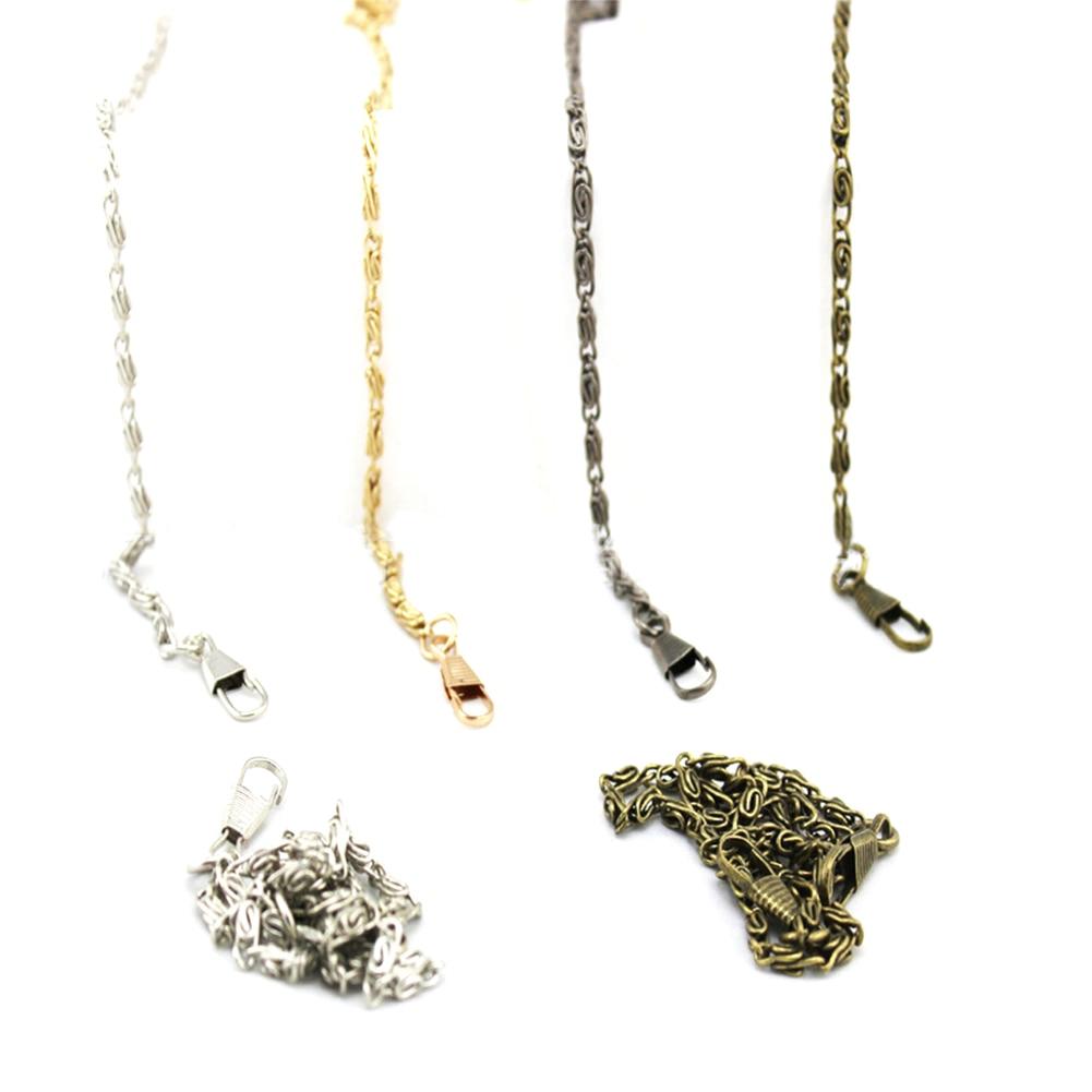 120 Cm Replacement Metal Chain For Purse Bags Shoulder Crossbody Handbag Antique Bronze Tone DIY Strap Bag Accessories Hardware