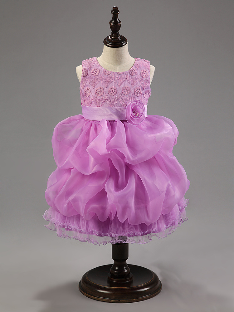 Hot sale lolita style boutique evening gowns children for Purple summer dresses for weddings