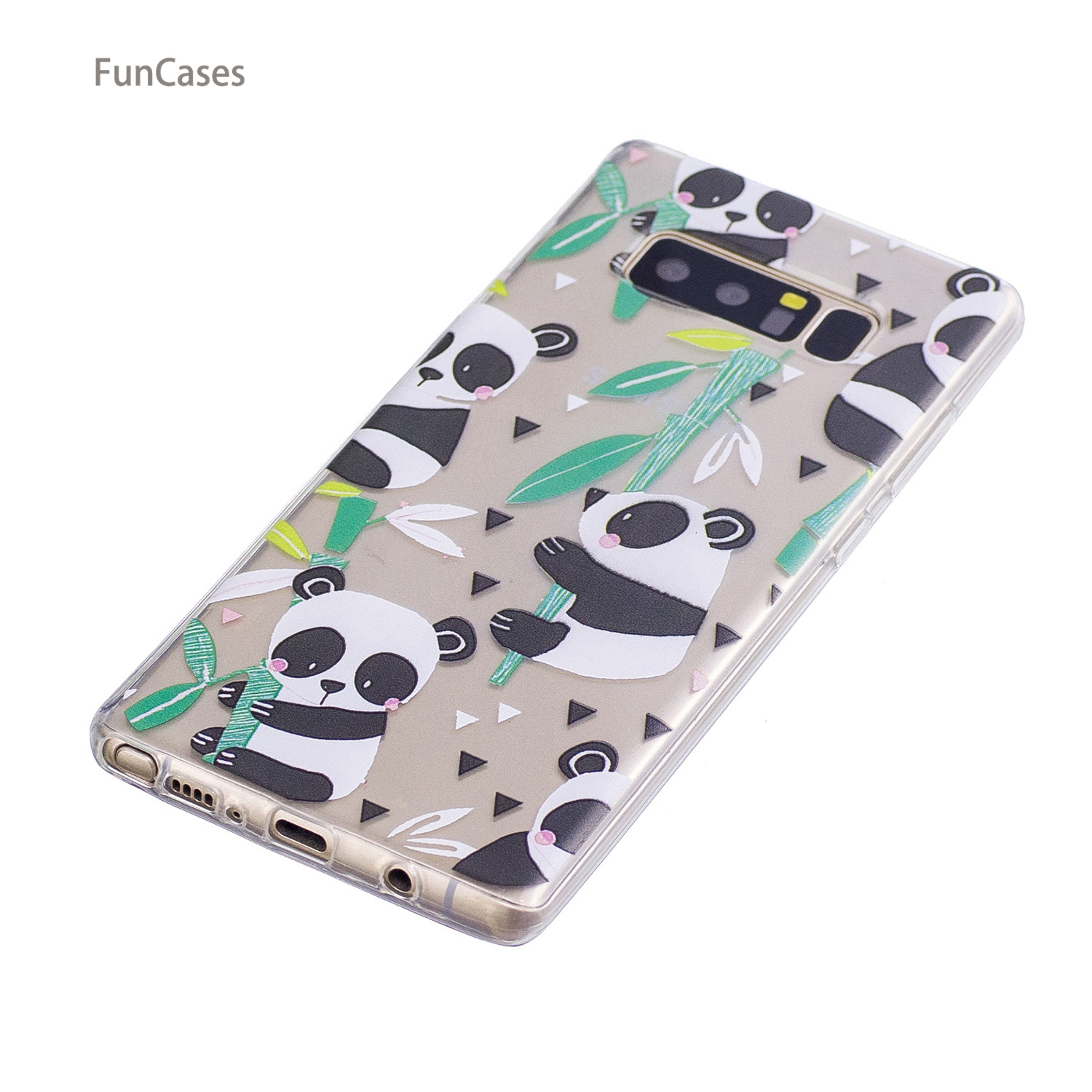 Text Case sFor Carcasa Samsung Note 8 Soft TPU Phone Case Capinhas Marble Holsters Clips Case sFor Samsung Galaxy Note 8 Luxury