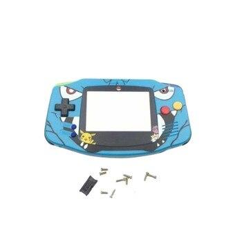 Carcasa de repuesto de edición limitada de dibujos animados para Gameboy Advance para funda de consola de juegos GBA